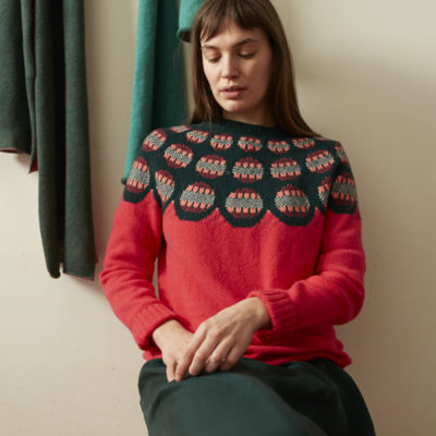 Donna Wilson AW20 - Garland Sweater - Pink