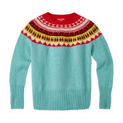 Helga Yoke Sweater - Sky - Donna Wilson