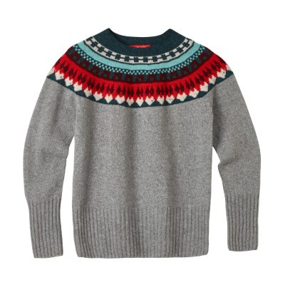 Helga Yoke Sweater - Grey - Donna Wilson