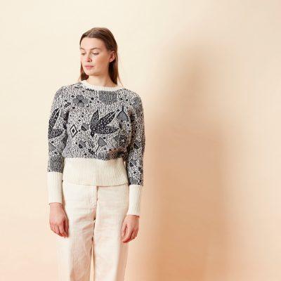 Birdie Sweater - Black - Donna Wilson