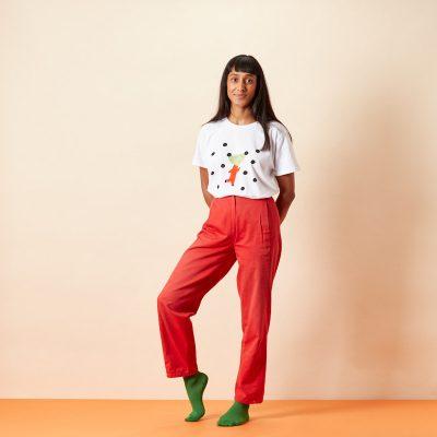 Pip Pom Pom T-Shirt - Donna Wilson