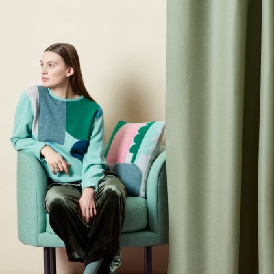 Koyo Sweater + Cushion - Donna Wilson