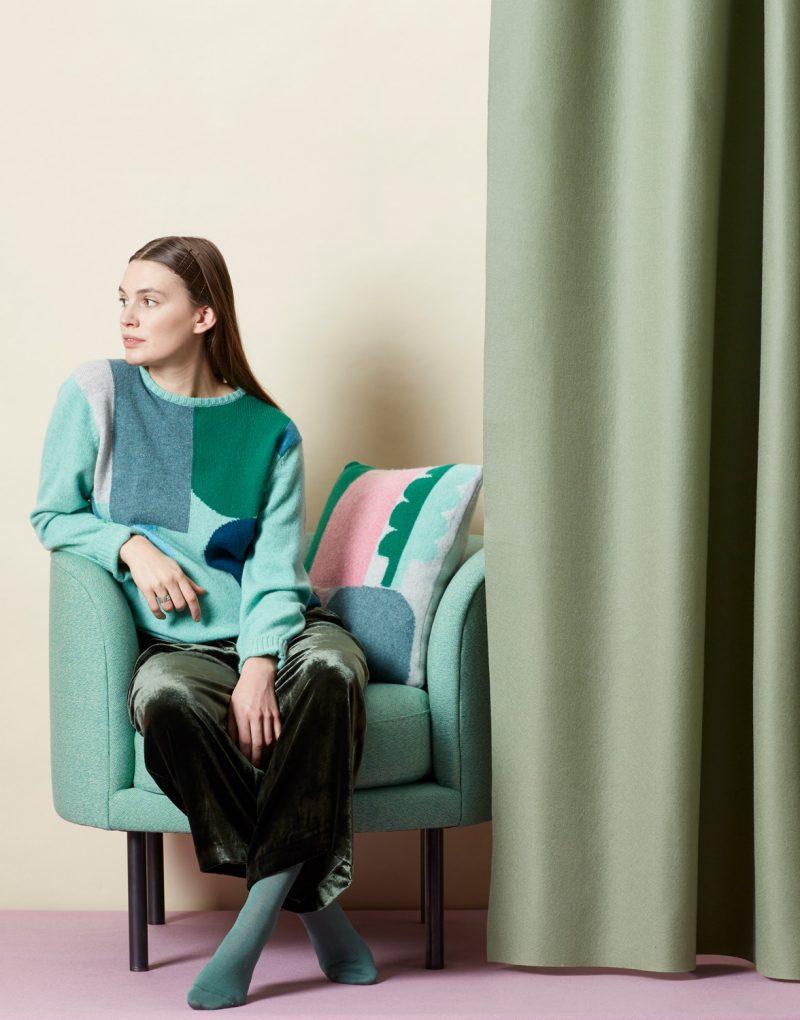 Koyo Sweater + Cushion - Donna Wilson