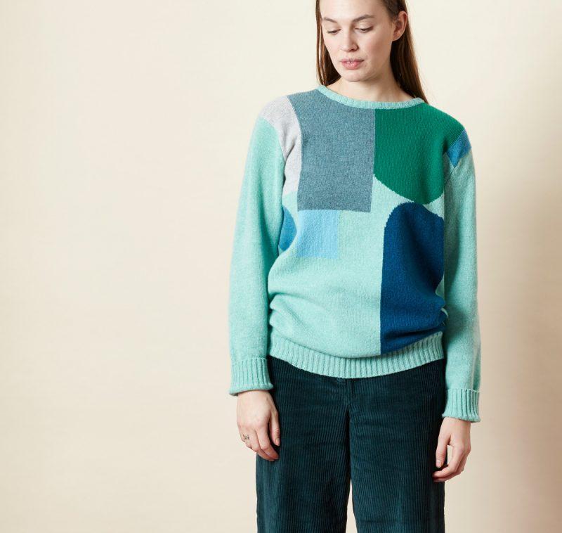 Hue Sweater - Blue - Donna Wilson