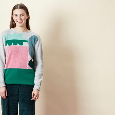 Koyo Sweater - Green - Donna Wilson
