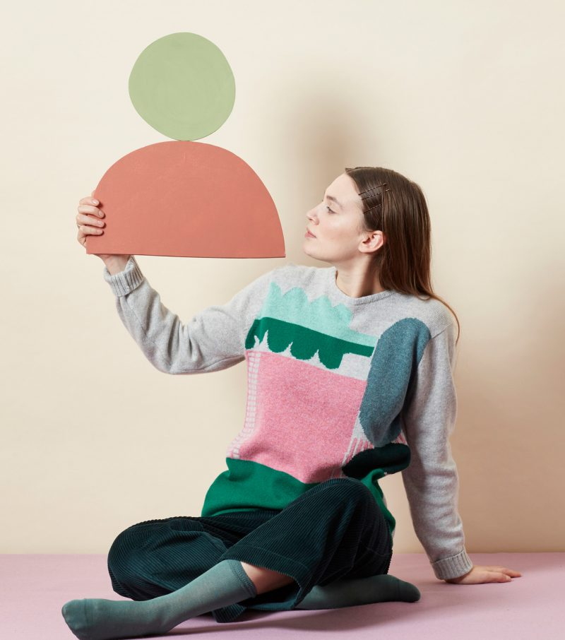 Koyo Sweater - Green - Donna Wilson
