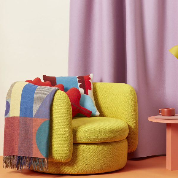 Koyo Cushion + Carnival Woven Throw - Donna Wilson