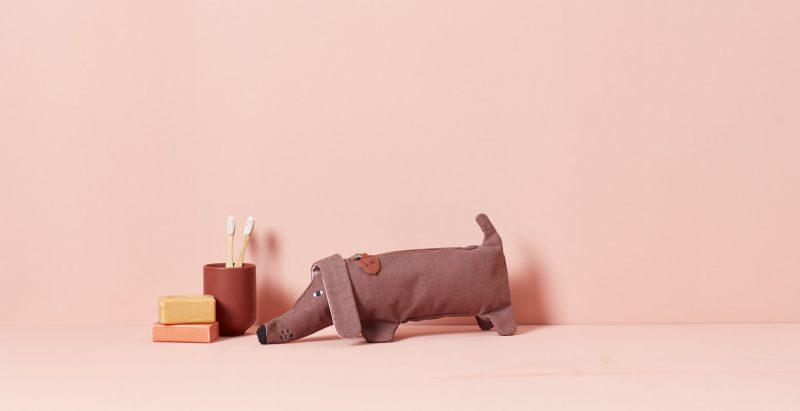 Sausage Dog Pouch - Donna Wilson