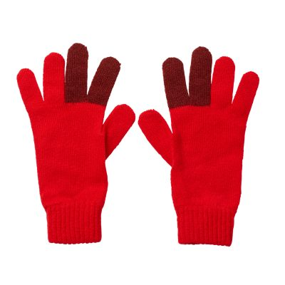 Peace Gloves - Red - Donna Wilson