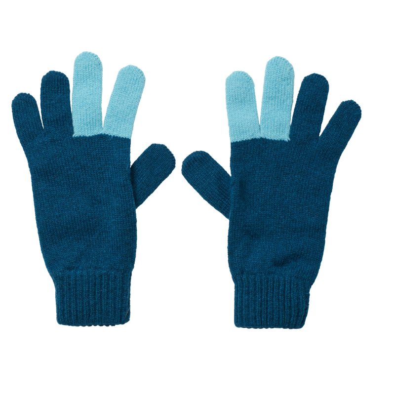 Peace Gloves - Blue - Donna Wilson