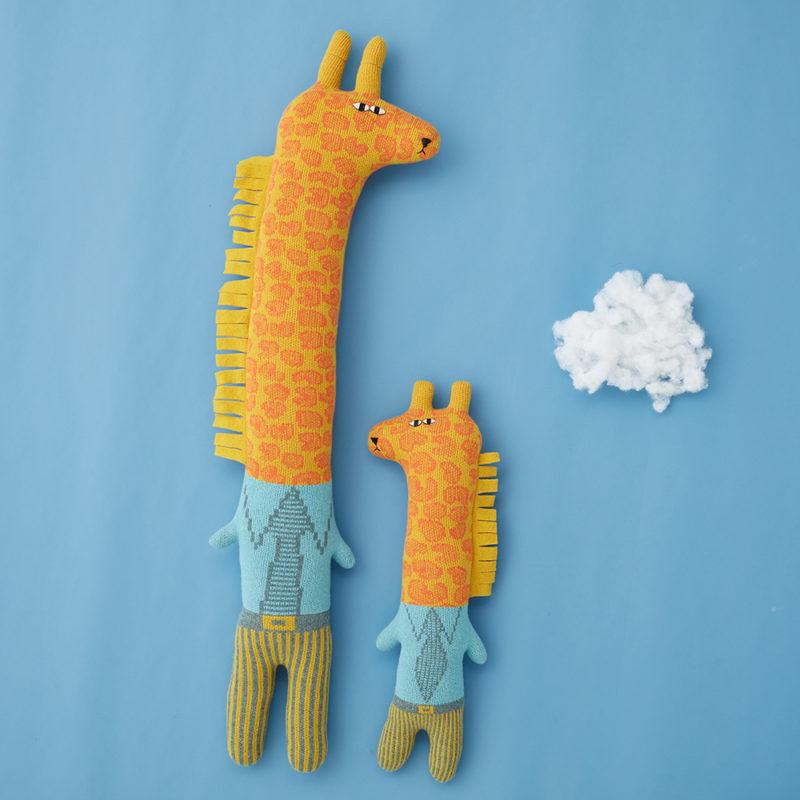 Gerry & Joey Giraffe - Donna Wilson