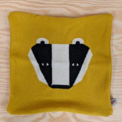 Badger Cushion - Mustard - SLIGHT SECONDS