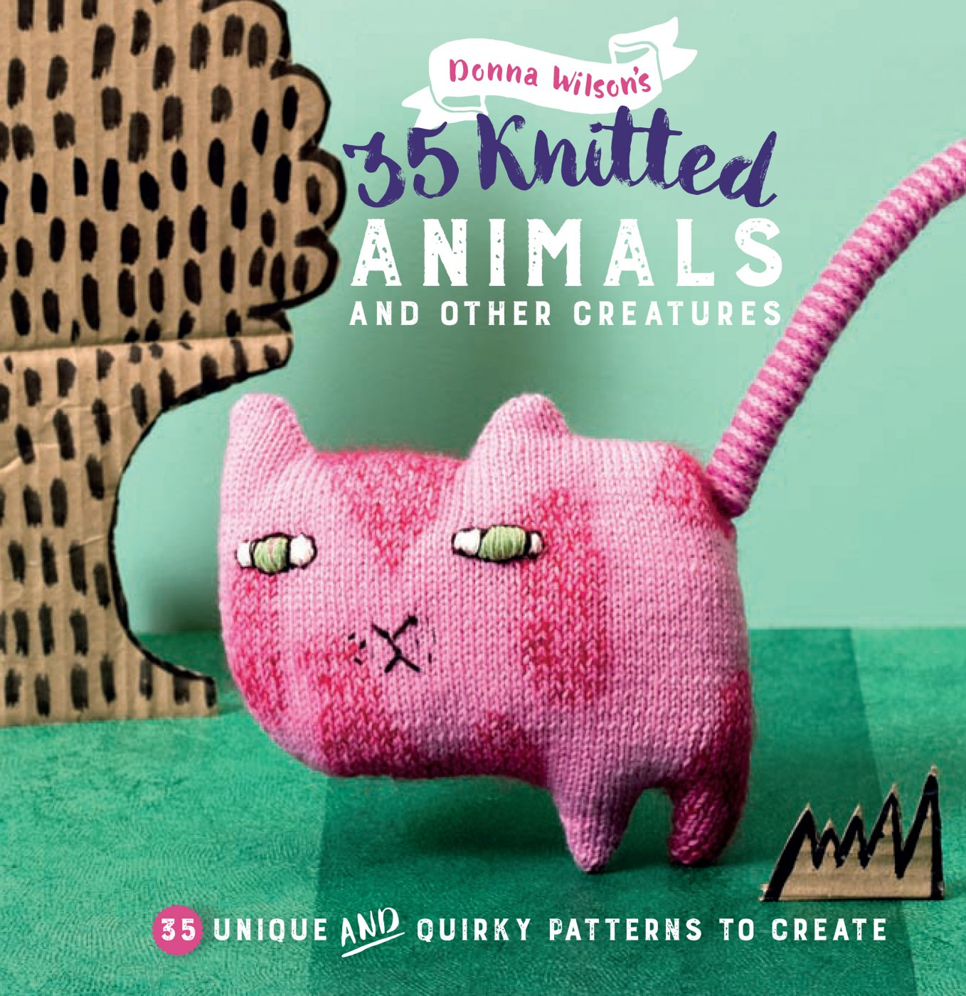 The Knitted Odd Bod Bunch Book - Donna Wilson