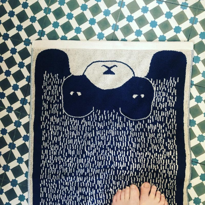 Donna Wilson - Bear Bath Mat