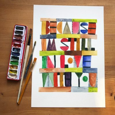 I'm Still In Love With You Print - Donna Wilson