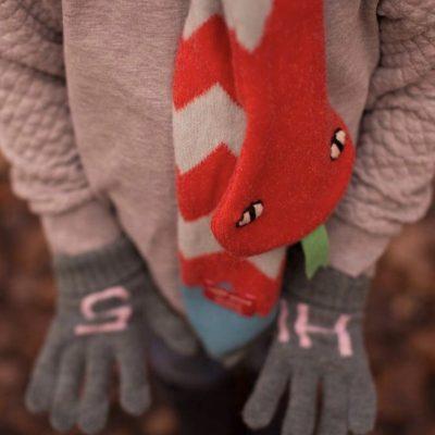 Donna Wilson - Kids' Hi 5 Gloves + Snake Scarf