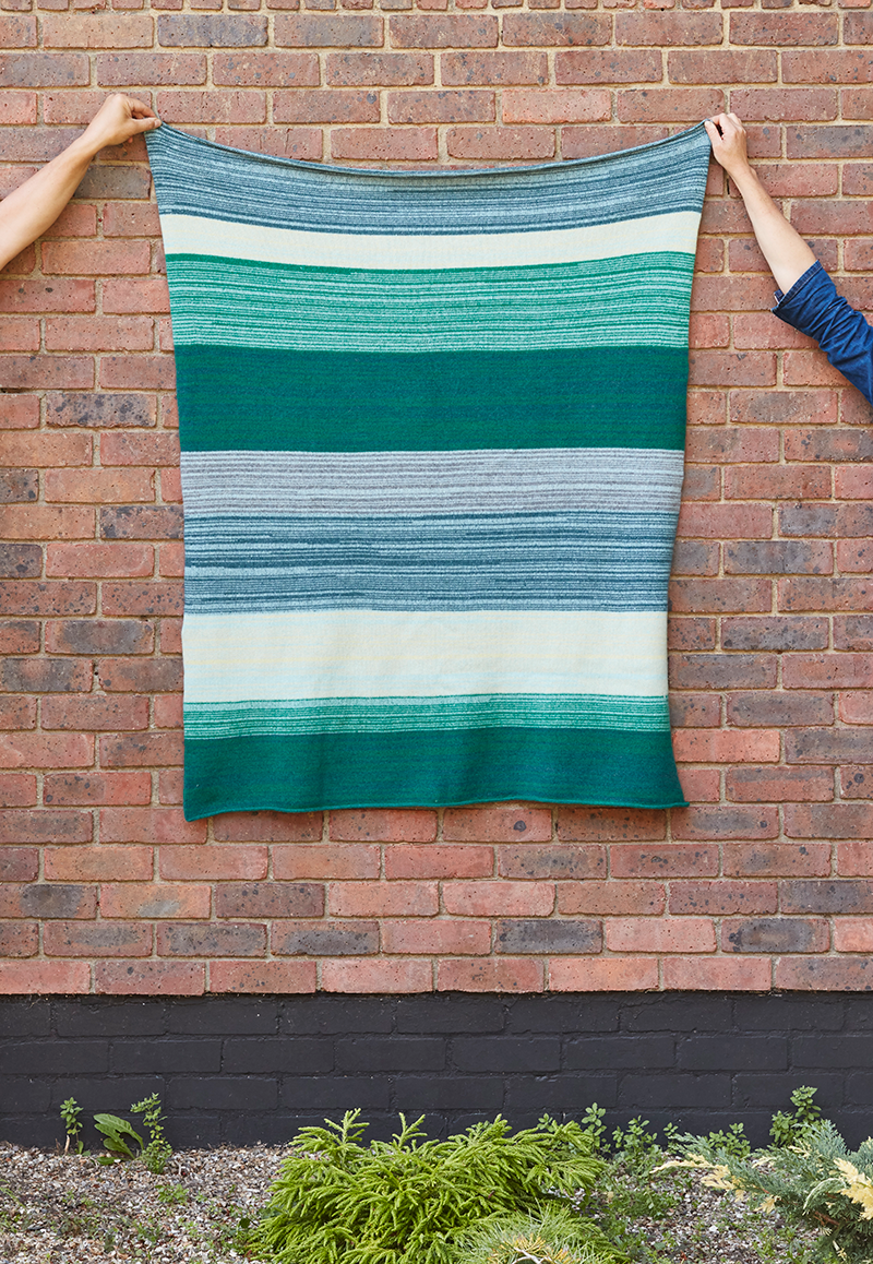 Donna Wilson Sky Stripe Throw