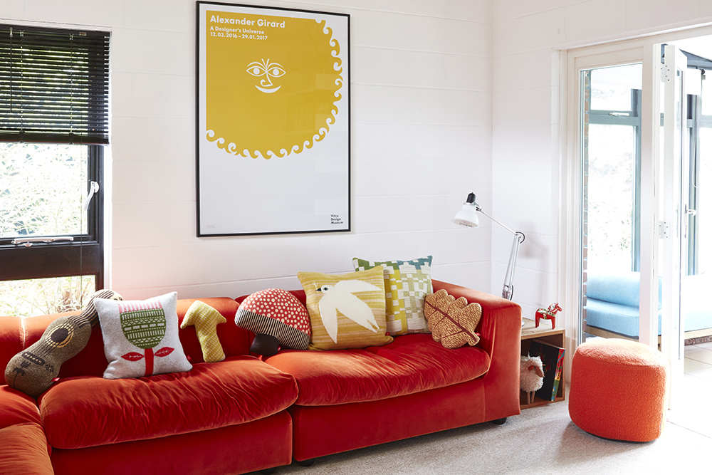 Donna Wilson Pennan Cushion Green Yellow. Donna ...