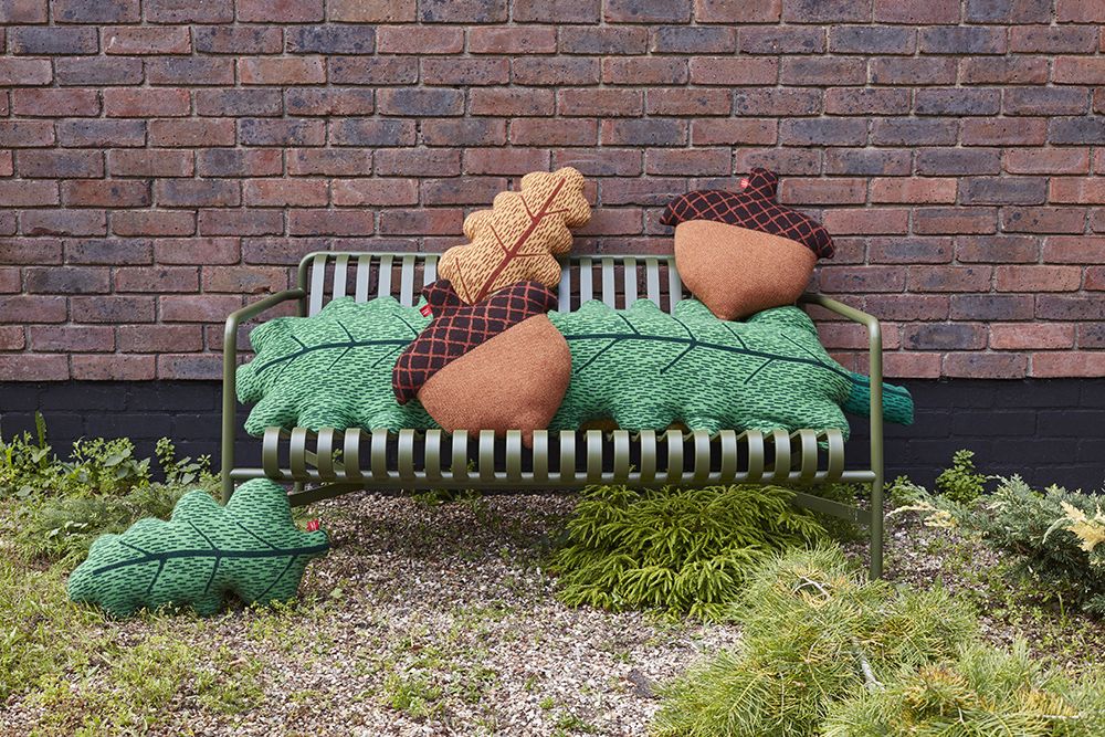 Donna Wilson Leaf and Acorn Cushions