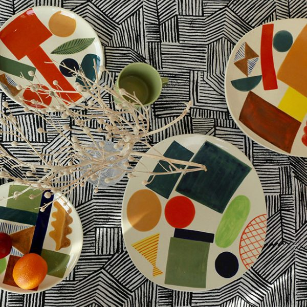 Handpainted Stoneware Ceramics - Donna Wilson