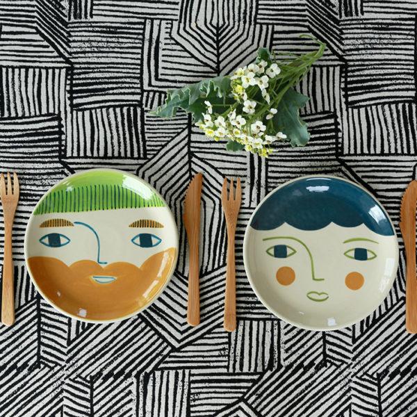 Violet + Roddy Plates - Donna Wilson