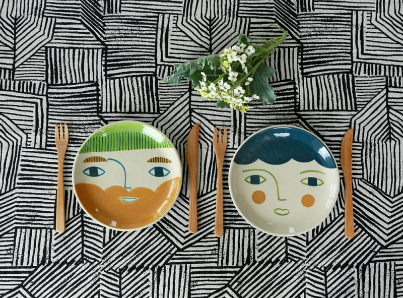 Roddy + Violet Plates - Donna Wilson