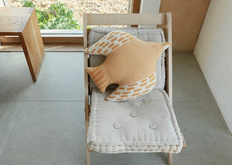 Bird Shaped Cushion - Harvest - Donna Wilson