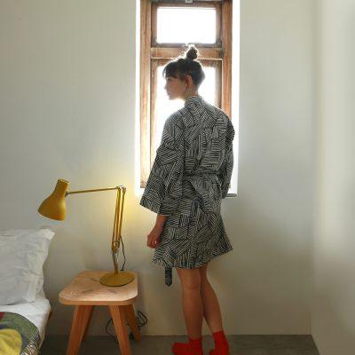 Lino Woven Robe - Donna Wilson