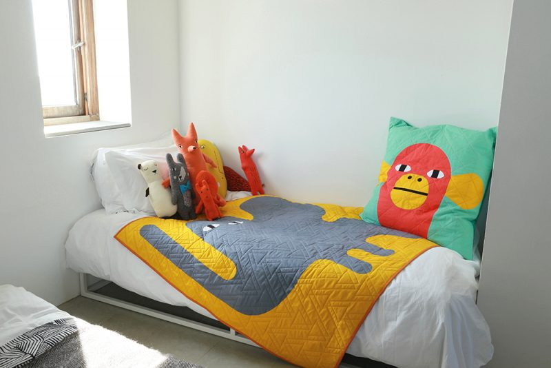 Quilted Cushion+ Throw Kits - Donna Wilson x Papper, Sax, Sten