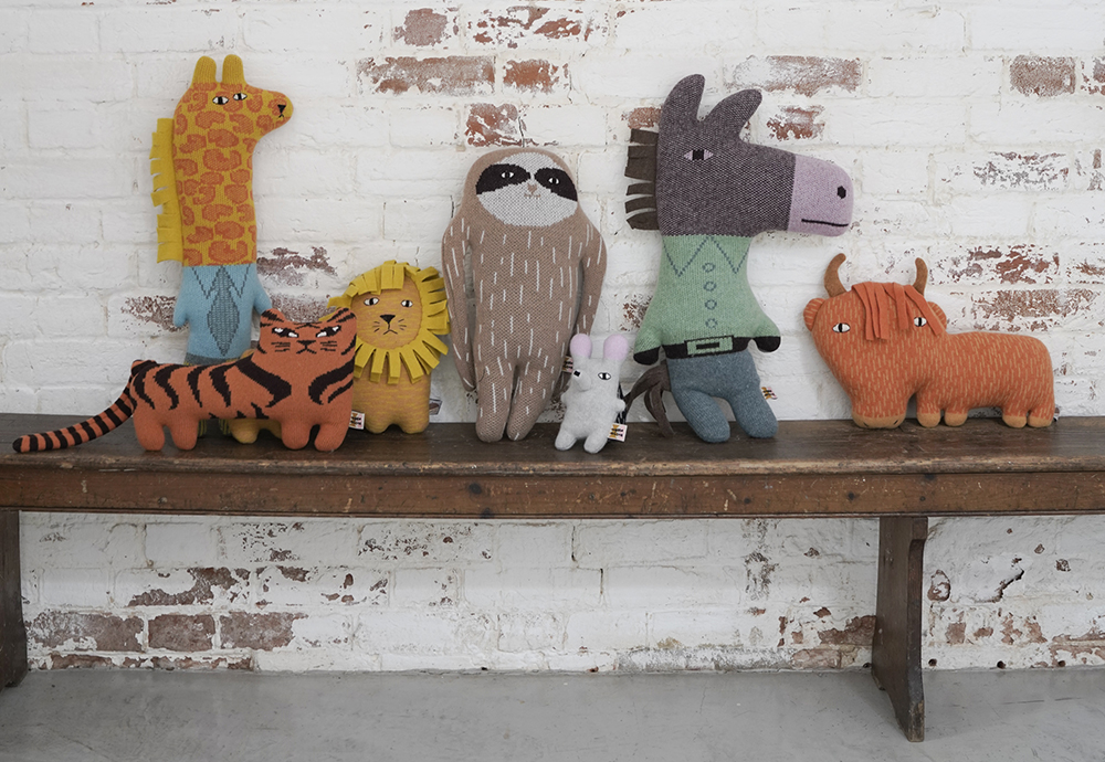 AW21 Creatures & Cushions on bench_banner