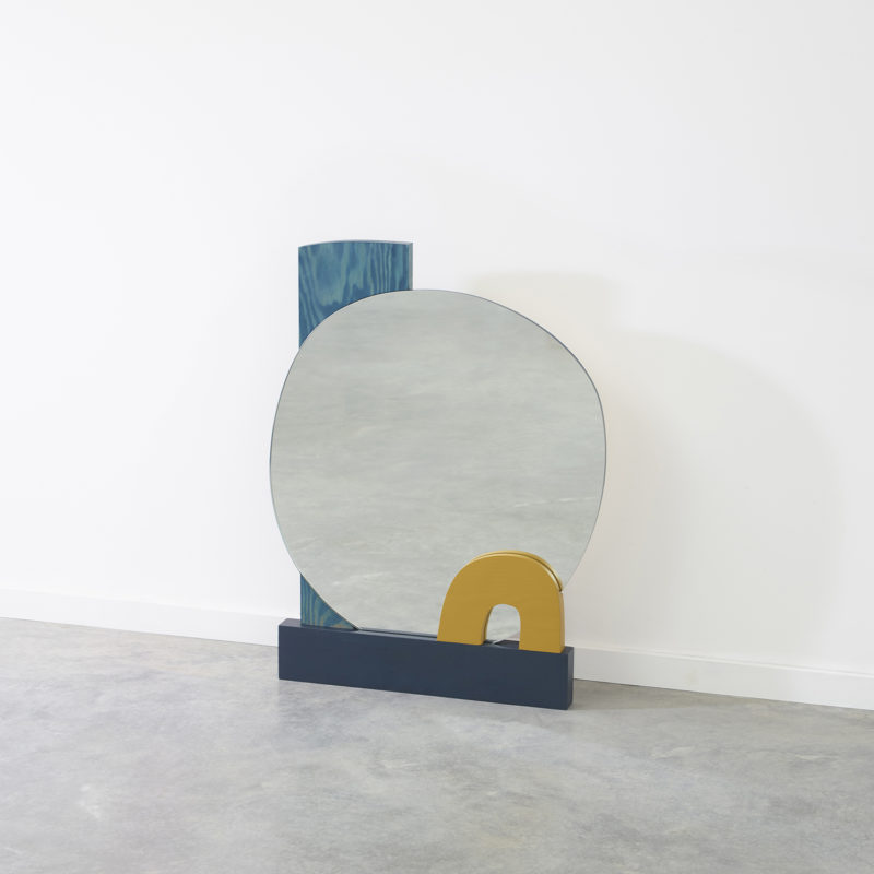 Abstract Assembly Mirror No. 4 - Donna Wilson