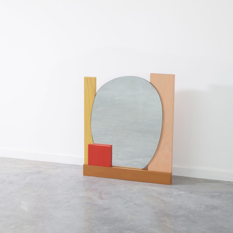 Abstract Assembly Mirror No. 2 - Donna Wilson