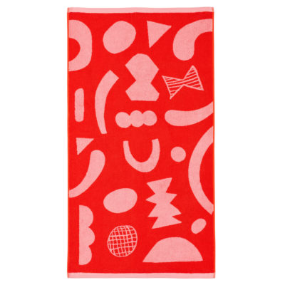 Abstract Shapes Bath Towel - Donna Wilson
