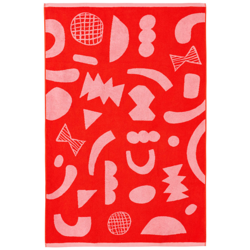 Abstract Shapes Sheet Towel - Donna Wilson