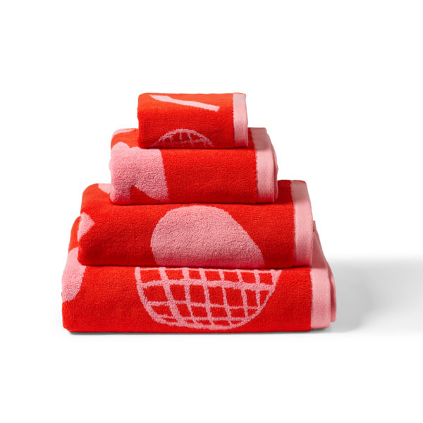 Abstract Shapes Towel Set - Donna Wilson
