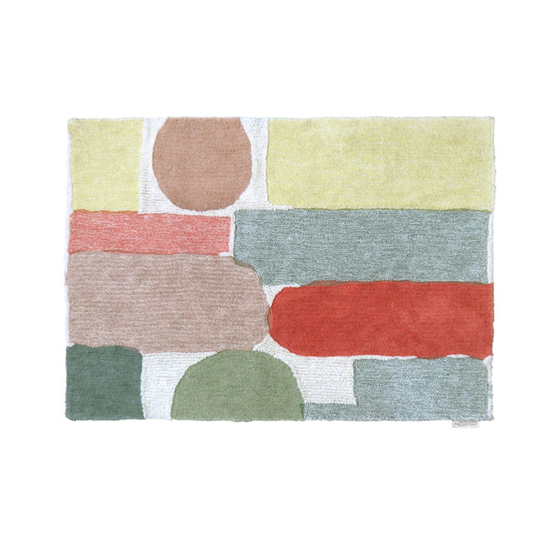 Abstract Shapes Woolable Rug - Donna Wilson x Lorena Canals