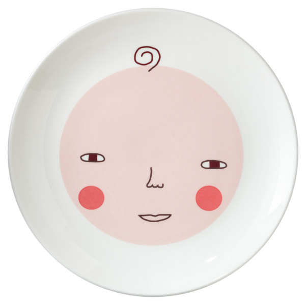 baby plate Donna Wilson