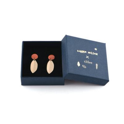 Leaf Earrings - Titlee x Donna Wilson