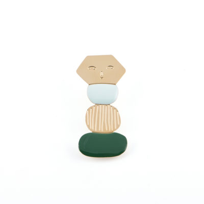 Totem Brooch - Titlee x Donna Wilson