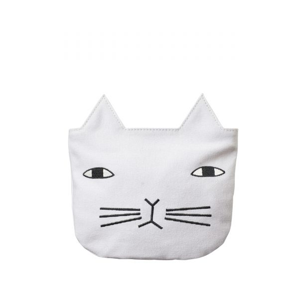 Cat Cosmetic Bag - Donna Wilson