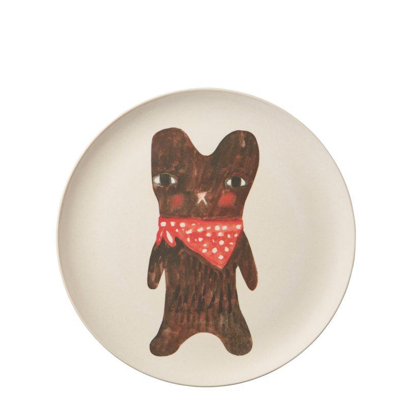 Donna Wilson - Bear Bamboo Plate