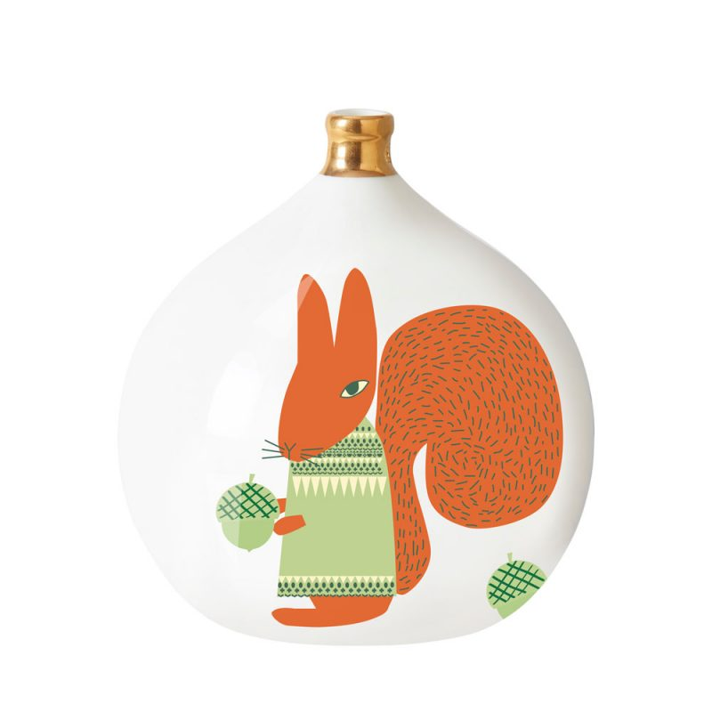 Donna Wilson - Squirrel Ceramic Bauble - Large