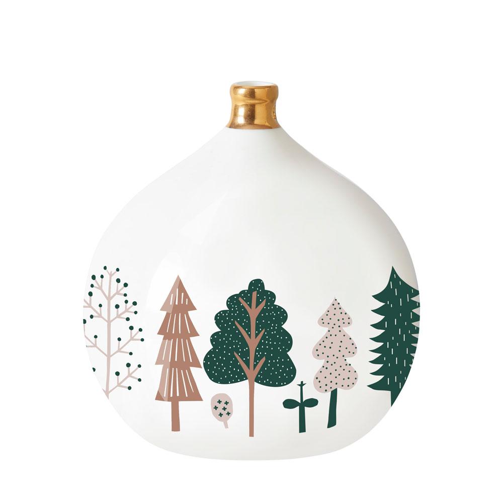 Trees Ceramic Bauble Large