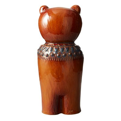 Earthenware-Bear-Figure