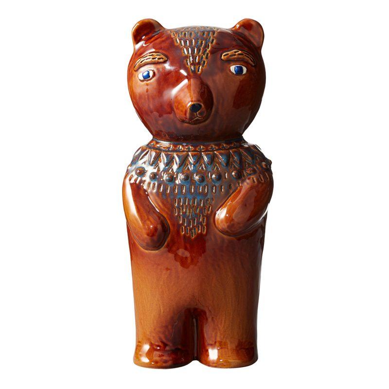 Earthenware-Bear-Figure