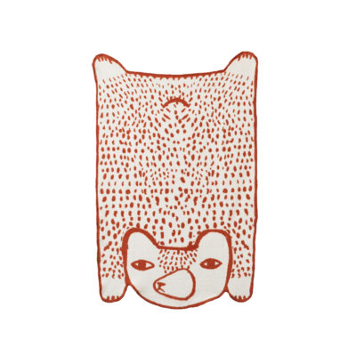 Bear Cotton Mini Blanket - Donna Wilson