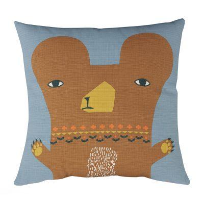 Donna Wilson - Bear Cushion - Front