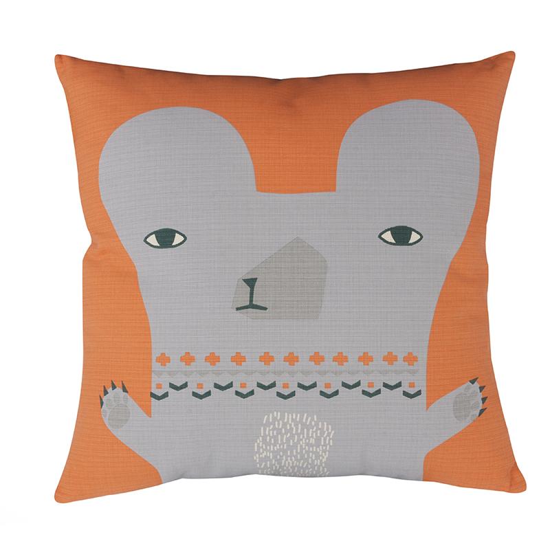 Donna Wilson - Bear Cushion - Back