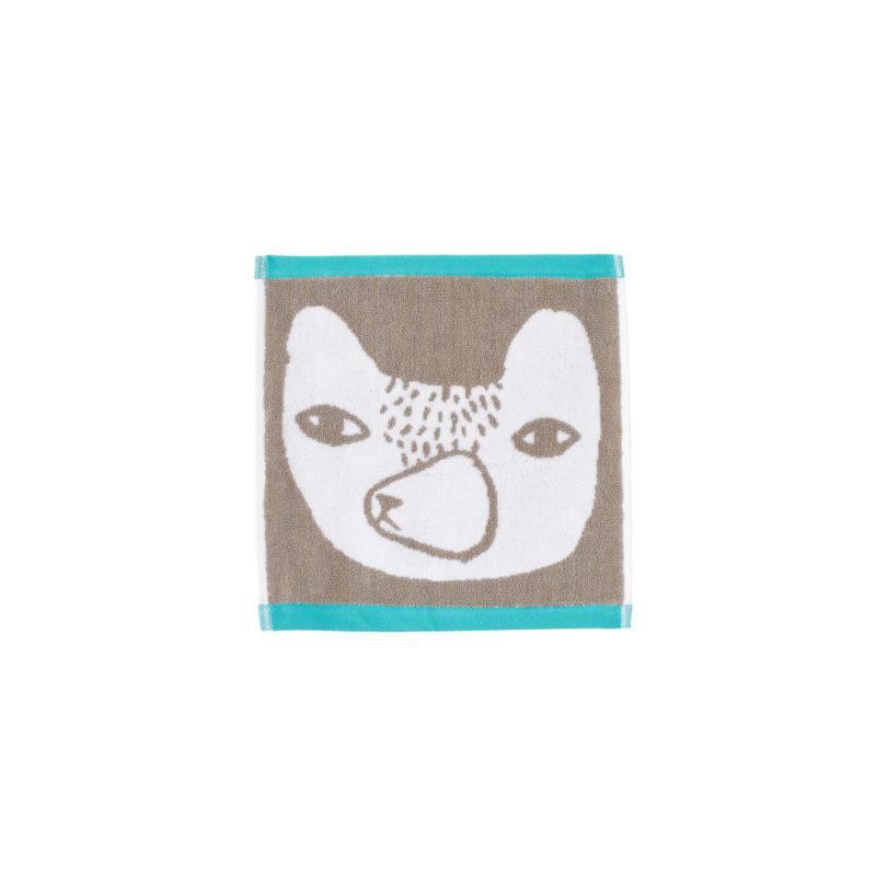 Bear Face Cloth - Grey - Donna Wilson