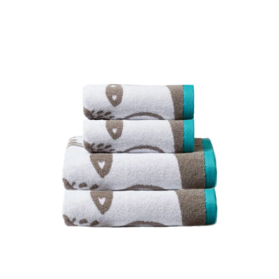 Bear Towel Set - Grey - Donna Wilson